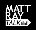 Matt Ray Talk Logo WhiteText