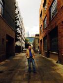 An alley in Sacramento