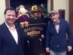 My longtime friend and longtime mentor, Lars Larson!